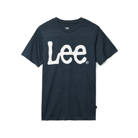 Lee Men's Logo Tshirt Cotton Navy LM10SK098