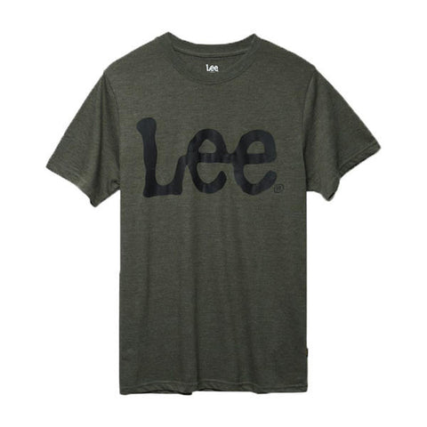 Lee Men's Logo Tshirt Cotton Olive LM10SK098