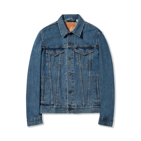 Levi's Men's Denim Trucker Jacket - Medium Stonewash 72334-0130