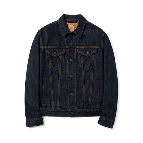Levi's Men's Denim Trucker Jacket - Rinse 72334-0134