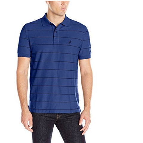 Nautica Striped Classic Fit Polo