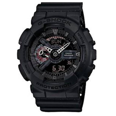 G-Shock GA-110-1BCR Analog Digital Black Resin Strap Watch