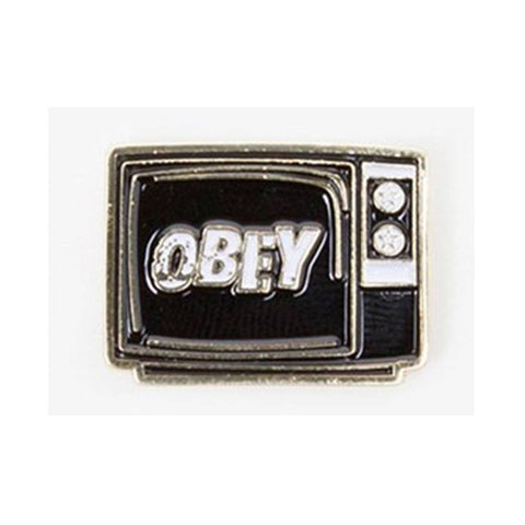 Obey What to Think Pin