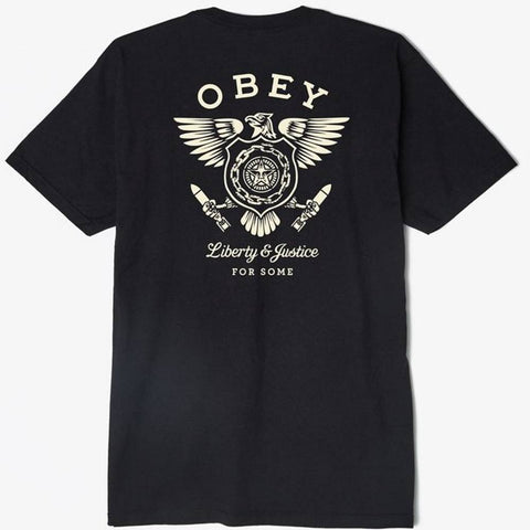 Obey Liberty & Justice Tee