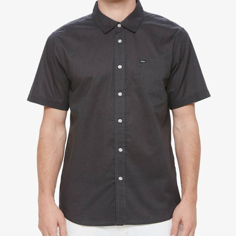 Obey Lou Woven Button Up Tee