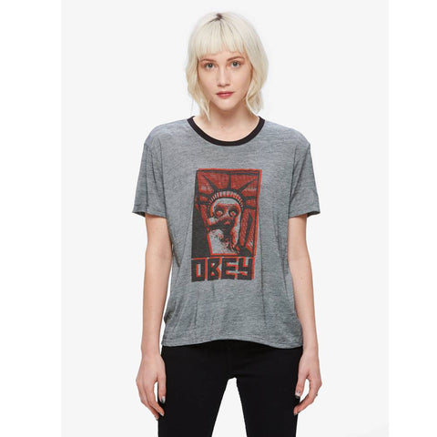 Obey Lady Liberty Tee