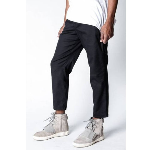 Rustic Dime Cropped Chino Pants