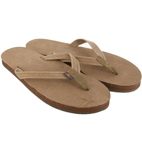 Rainbow Sandals Single Layer Thin Strap Sandals