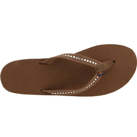 Rainbow Sandals Crystal Collection Single Layer Sandals