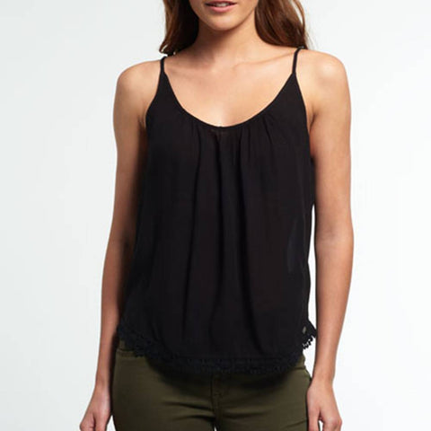 Superdry Essential Button Through Cami Top