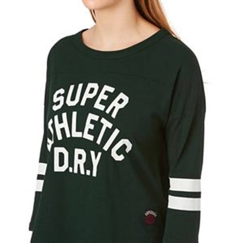 Superdry Varsity College Baseball Tee
