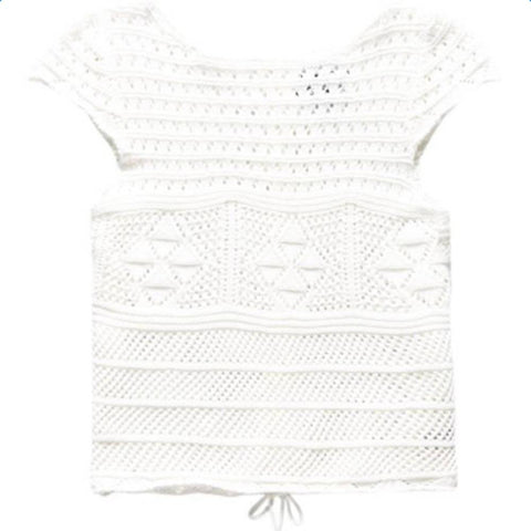 Superdry Alexis Crochet Knit