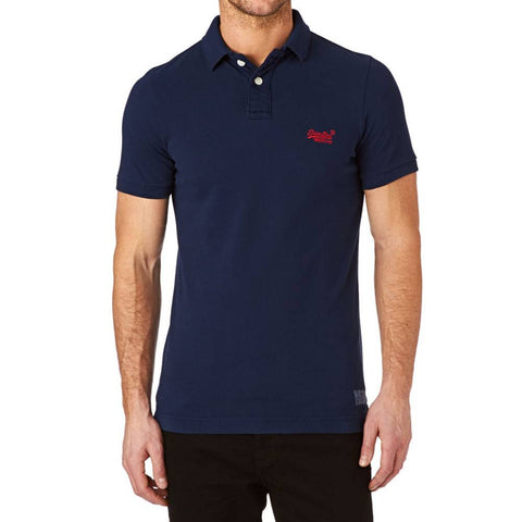 Superdry Vintage Destroyed Pique Polo