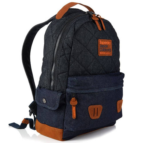 Superdry Quilted Raw Montana Backpack