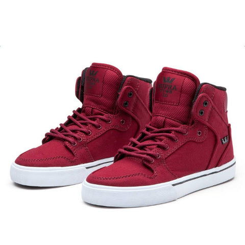 Supra Kids Burgundy Vaiders