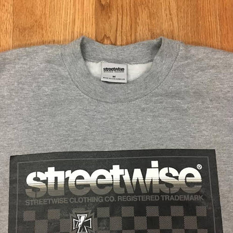Streetwise Power Moves Crewneck Sweater