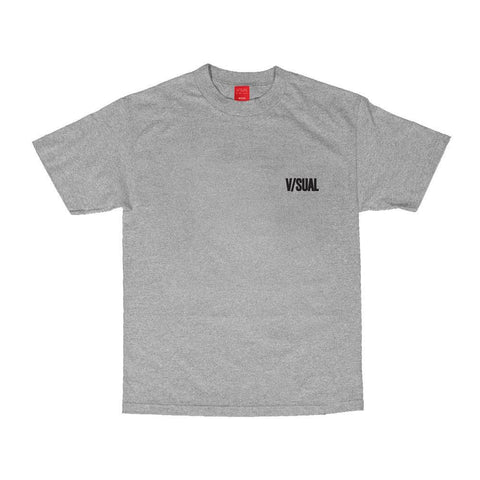 VISUAL Forbidden Heather Grey Tee