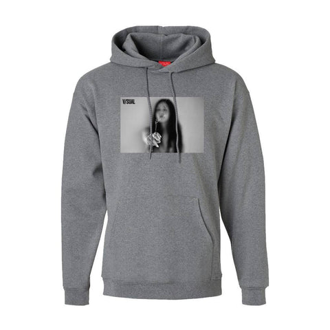 VISUAL Joint Heather Grey Hoodie
