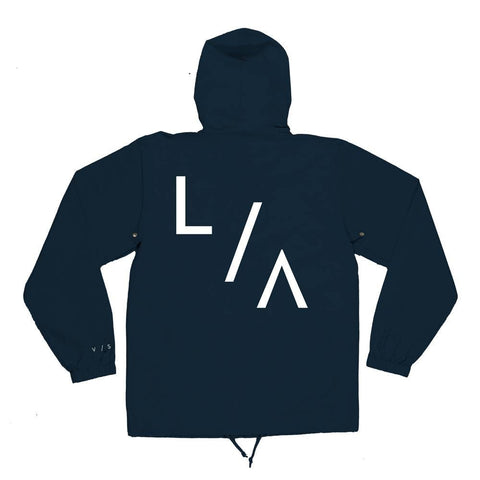 VISUAL LA Hooded Coach's Jacket