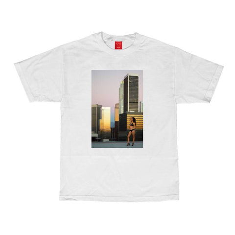 VISUAL Rooftop White Tee