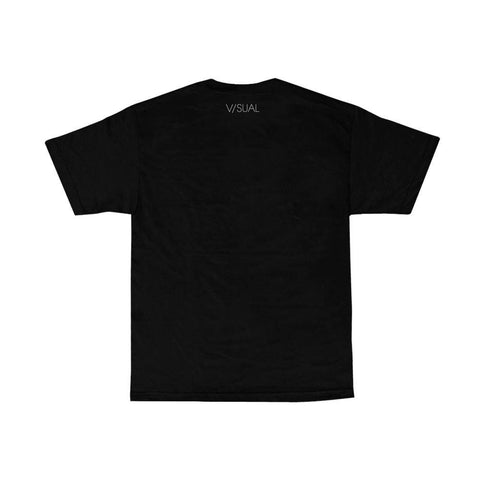 VISUAL Taped Black Tee