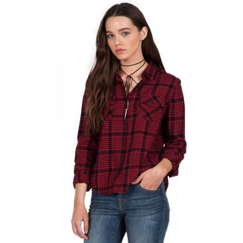 Volcom Lodge Life Long Sleeve Flannel