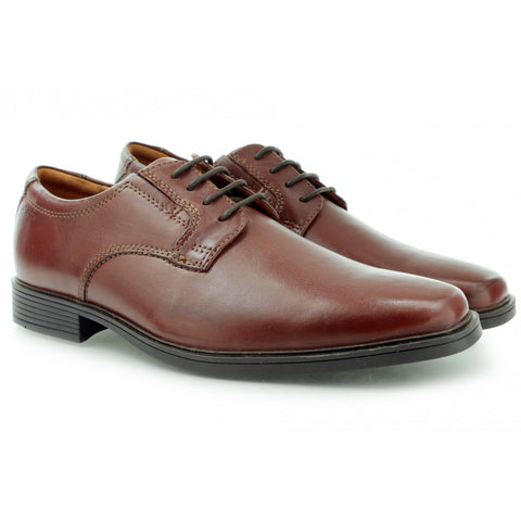 Clarks Tilden Plain Plain Toe Leather Oxford