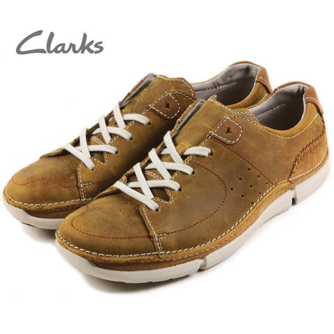 Clarks Trikeyon Mix Tan Leather
