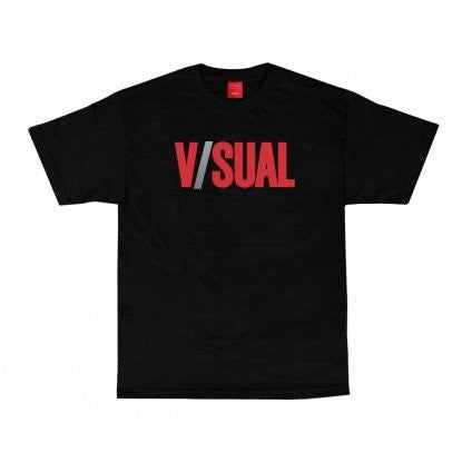 VISUAL Two Tone Logo Tee