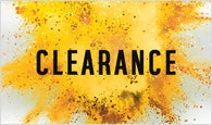 CLEARANCE - WELL BELOW COST