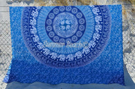 Square Mandala Throws