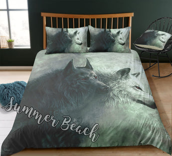 Hunting Wolves Bed  Set - New