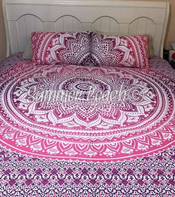 Pink Ombre' Bed Set - B11