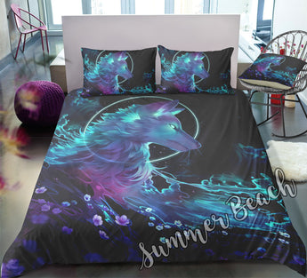 Mystic Wolf Bed  Set - New