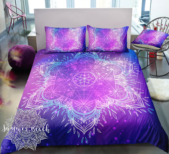 Boho Galaxy Star Bed Set