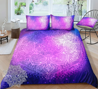 Boho Galaxy Supernova Bed Set - New