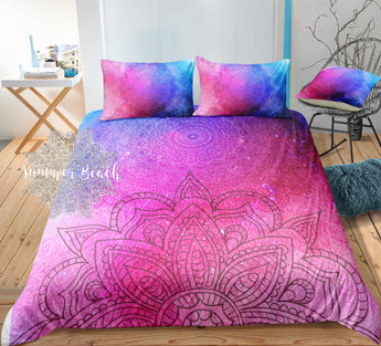 Boho Galaxy Sun Rise Bed Set - New
