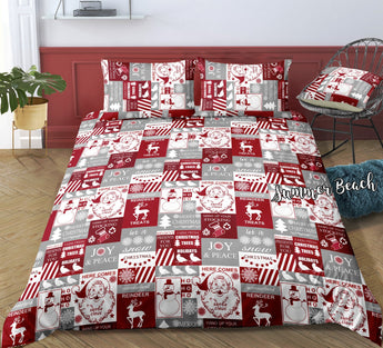 Christmas Wrapper Bed Set - New