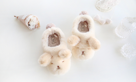 Super Soft Doggie Slippers - Adult Size