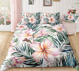 Tropical Frangipani Bed Set - New