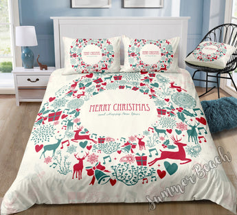 Christmas Reef Bed Set - New