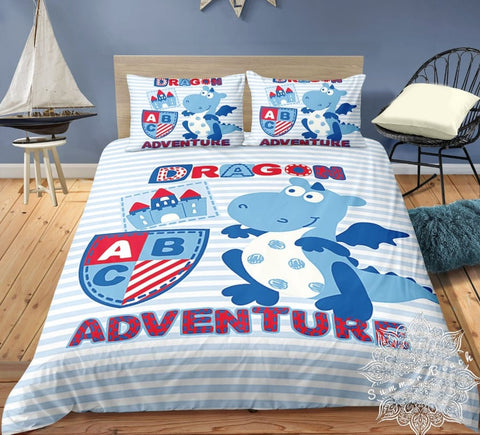 Dinosaurs Adventure Bed Set