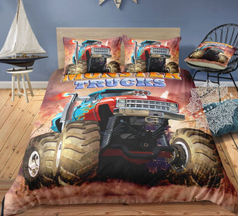 Mud Monster Bed Set - New