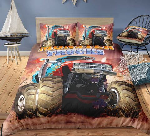 Mud Monster Bed Set