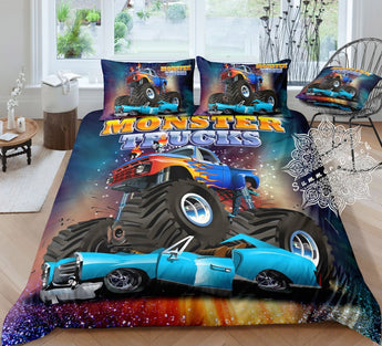 Crush Monster Truck Bed Set