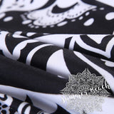 Black & White Ombre Bed Set