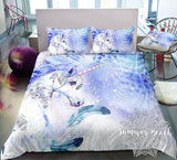 Boho Gypsy Unicorn Bed Set
