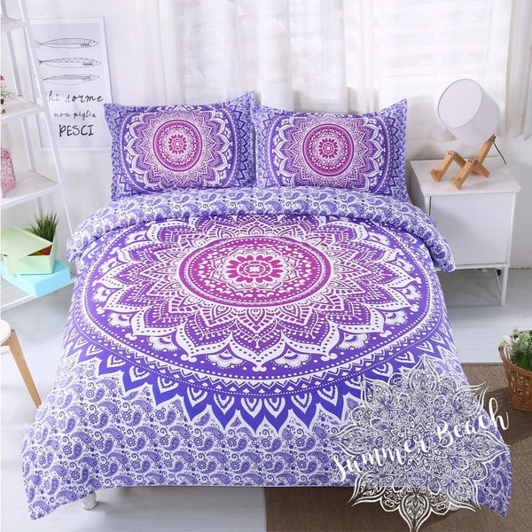 Purple Ombre Bed Set - New