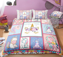 Unicorn Dreams Bed Set - New