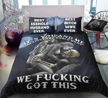 We F#*King Got This Bed Set